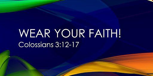 wear your faith